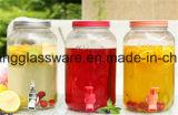 미국 시장 주스 꼭지를 가진 유리제 저장 단지 통조림으로 만들어진 주스에 있는 최신 인기 상품