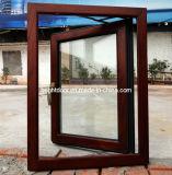 60series Windows de madeira composto de alumínio com ferragem de Alemanha (CL-W2002)