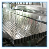 transparente tubo decoración de acero inoxidable