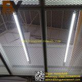 拡大されたワイヤーシートによって拡大される金属板はのための天井を中断する