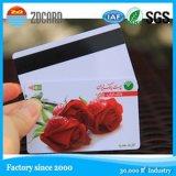 Cartão de sociedade magnético do VIP do jogo plástico da cor da impressão 4