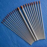 Électrode de tungstène de la qualité Wt20 avec la couleur rouge 2%