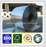 Ruban et papier stratifié par or de papier d'aluminium