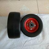 Flach freies Leichtgewichtler PU-Gummi-Rad