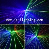 Luz laser programable del color multi de 6 orificios