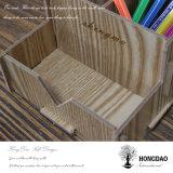 Sostenedor de madera Wholesale_L de la pluma del desmontaje de encargo de Hongdao