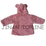 赤ん坊のための冬保護のどの毛皮の偽造品の毛皮の暖かく厚いジャケット