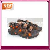 Ботинки сандалии неподдельной кожи для людей
