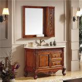 Kabinet van uitstekende kwaliteit van de Badkamers van de Vloer het Permanente met Spiegel