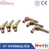 90 ajustage de précision de pipe hydraulique de la femelle 60deg du degré JIS de portée métrique de cône (28691.28691-W. 29691.29691-W)