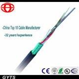 6 Kern-Schicht angeschwemmtes optisches Kabel für Telekommunikation