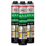 A maioria uma de colagem componente favorável do plutônio da espuma de poliuretano da construção do aerossol