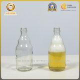 bouteille à bière 330ml en verre claire tronquée avec le dessus de tête (554)
