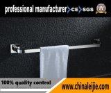 Barre d'essuie-main simple d'acier inoxydable de fournisseur d'usine pour la salle de bains