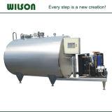 Réservoir de refroidissement au lait de réfrigération horizontale