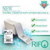 Thermisches empfindliches BOPP beschriftet Material für Stab-Kodierer-Drucker
