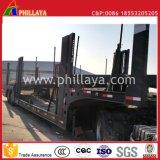 半自動手段油圧6 SUVの運送業者シャーシ8の自動車運搬船のトレーラー