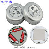 枕元電池のリモートが付いているキャビネットのための小さい接触寝室の接触ライト