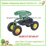 Garten-Hilfsmittel-Karre für das Sitzen mit pneumatischem Rad (TC4501)