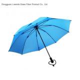 Зонтик Анти--UV зонтика гольфа Trekking с рамкой/нервюрами стеклоткани