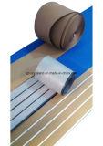 Aqualand hölzerner zusammengesetzter flexibler Teakholz-/Teakholz-Plastikbodenbelag des Boots-Decking/Synthetic