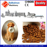 Usine d'aliments pour chiens d'aliments pour animaux faisant la machine