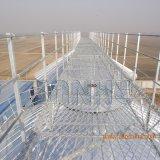 Montare il silo galvanizzato di memoria del mais