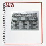 Fil de spirale-O métallique de reliure de livre