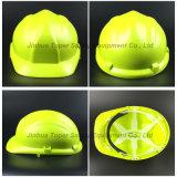مواد البناء السلامة خوذة دراجة نارية خوذة HDPE هات (SH503)