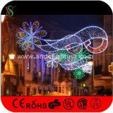 عيد ميلاد المسيح خارجيّة تجاريّة صليب شارع [لد] الحافز أضواء لأنّ عطلة