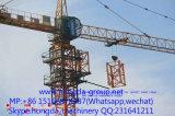 Guindaste de torre do competidor de 5 toneladas de Hongda