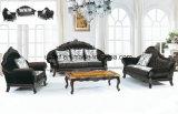 Sofá europeu moderno da sala de visitas do couro do estilo (UL-NSC100)