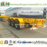 De Semi Aanhangwagen van uitstekende kwaliteit van de Container van het Skelet van China Shengrun 40FT 3axle