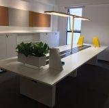Uispair Modern Office LED 10W lâmpada de mesa de leitura fixa com interruptor de botão de pressão