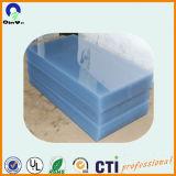 Folha do plástico do PVC da impressão Offset da folha do PVC Transarent