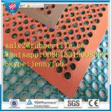 Anti-Slip резиновый циновка кухни, половой коврик резины дренажа