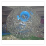Boule de commande gonflable transparente faite sur commande de PVC avec le logo