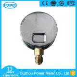 constructeur isométrique inférieur d'indicateur de la pression 60bar de 63mm