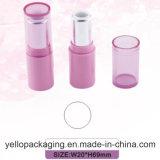 Kundenspezifisches kosmetisches verpackenlippenstift-verpackenlippenstift-Behälter-Lippenstift-Gefäß (YELLO-146)