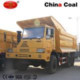 Estrazione mineraria HOWO 70 tonnellate di autocarro con cassone ribaltabile resistente