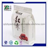 Sacchetto di plastica del sacchetto dell'alimento della parte inferiore del blocchetto quadrato di BOPP poli