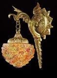 Dekoration Hotel Brass mit Glass Wall Lamp (MB0808-1)