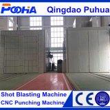 サンドブラスティングはクリーニング装置のろ過材を機械で造る