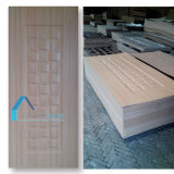 Shandong 제조자에 의하여 박판으로 만들어지는 HDF MDF 실내 멜라민 문 피부