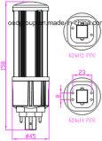 360 disipador de calor grande de la alta calidad de la luz del maíz de la iluminación IP64 12W LED del grado