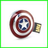 Lecteur flash USB imperméable à l'eau de mémoire Flash en métal