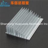 Aluminiumstrangpresßling-Profil für Kühlkörper mit der Anodisierung