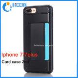 Caja del teléfono con la ranura para tarjeta para iPhone7/7plus