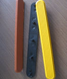 Tira tátil de borracha antiderrapante de Warnning PVC/TPU