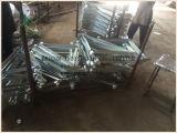 Supports latéraux galvanisés pour cadres Système d'échafaudages